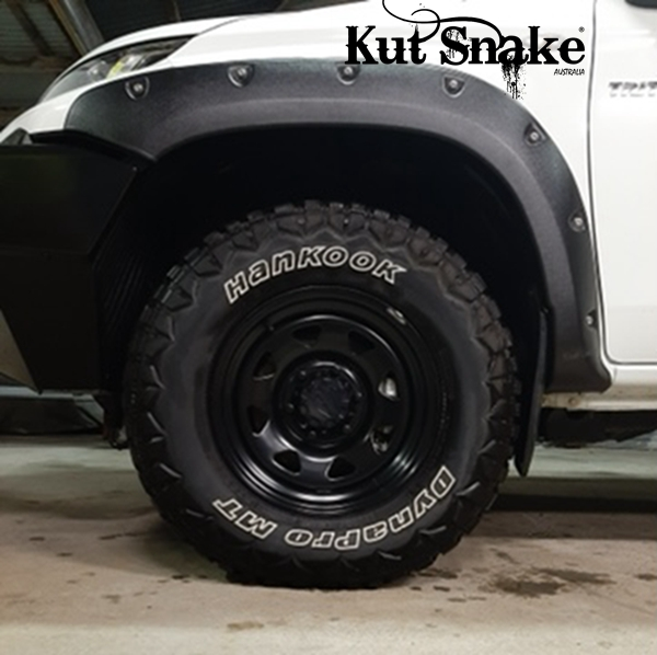 Kut-Snake Fender Flares Mitsubishi L200 MR FLHS